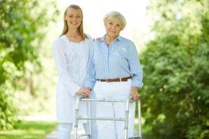 Caregiver with Elderly